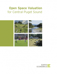 Earth Economics OPen Space Valuation for Central Puget Sound Report Cover