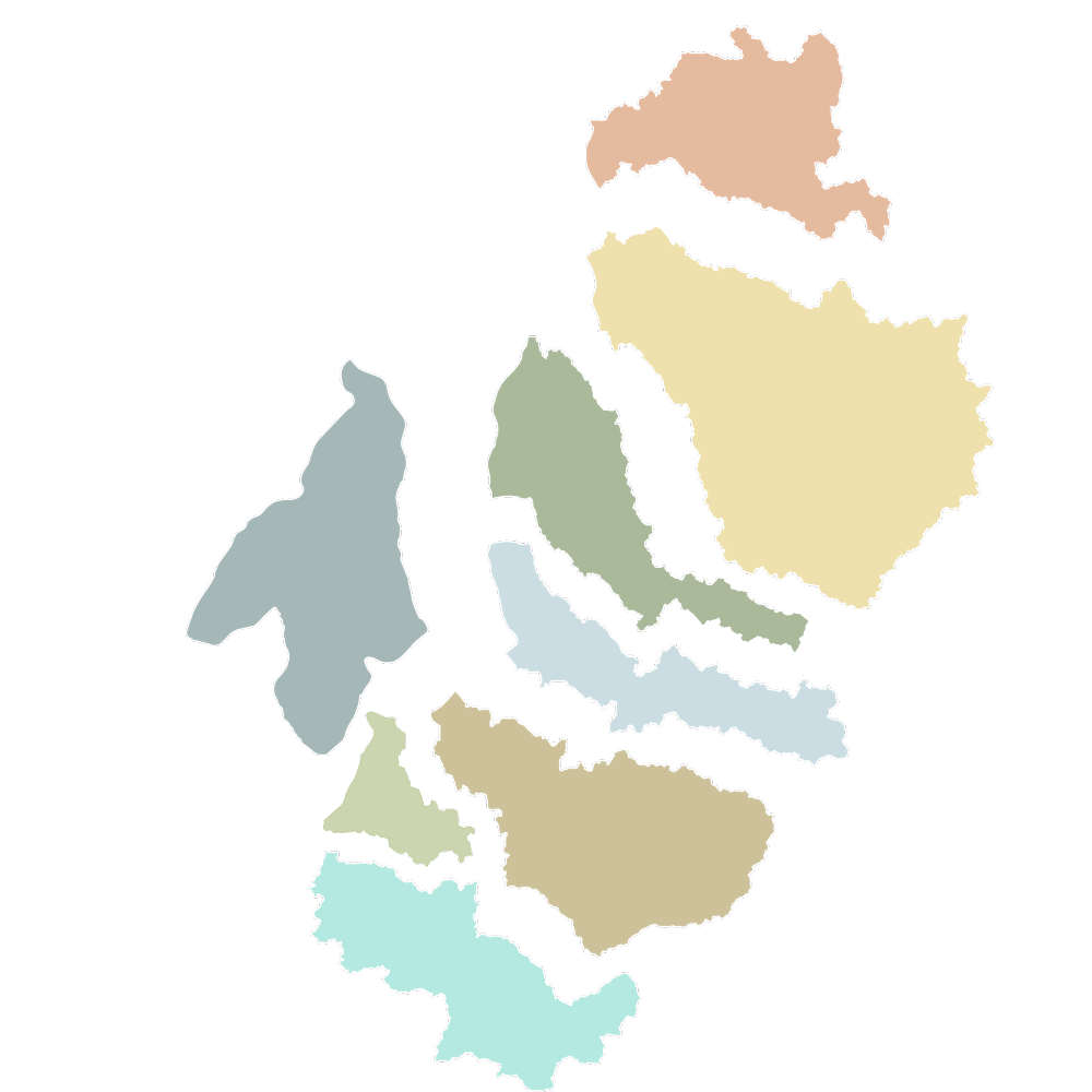 ROSS Watersheds Map