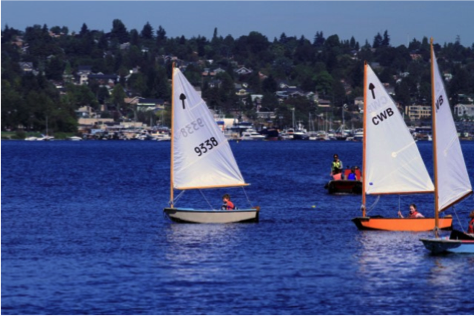 Sailing on Lake Union. Photo Credit Matt Chadsey